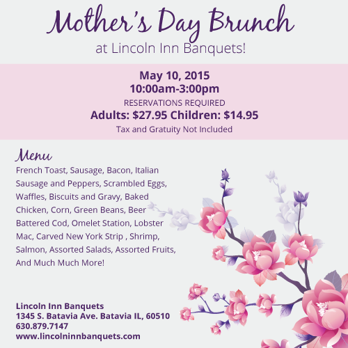Mother S Day Brunch In The Fox Valley The Rullo Team